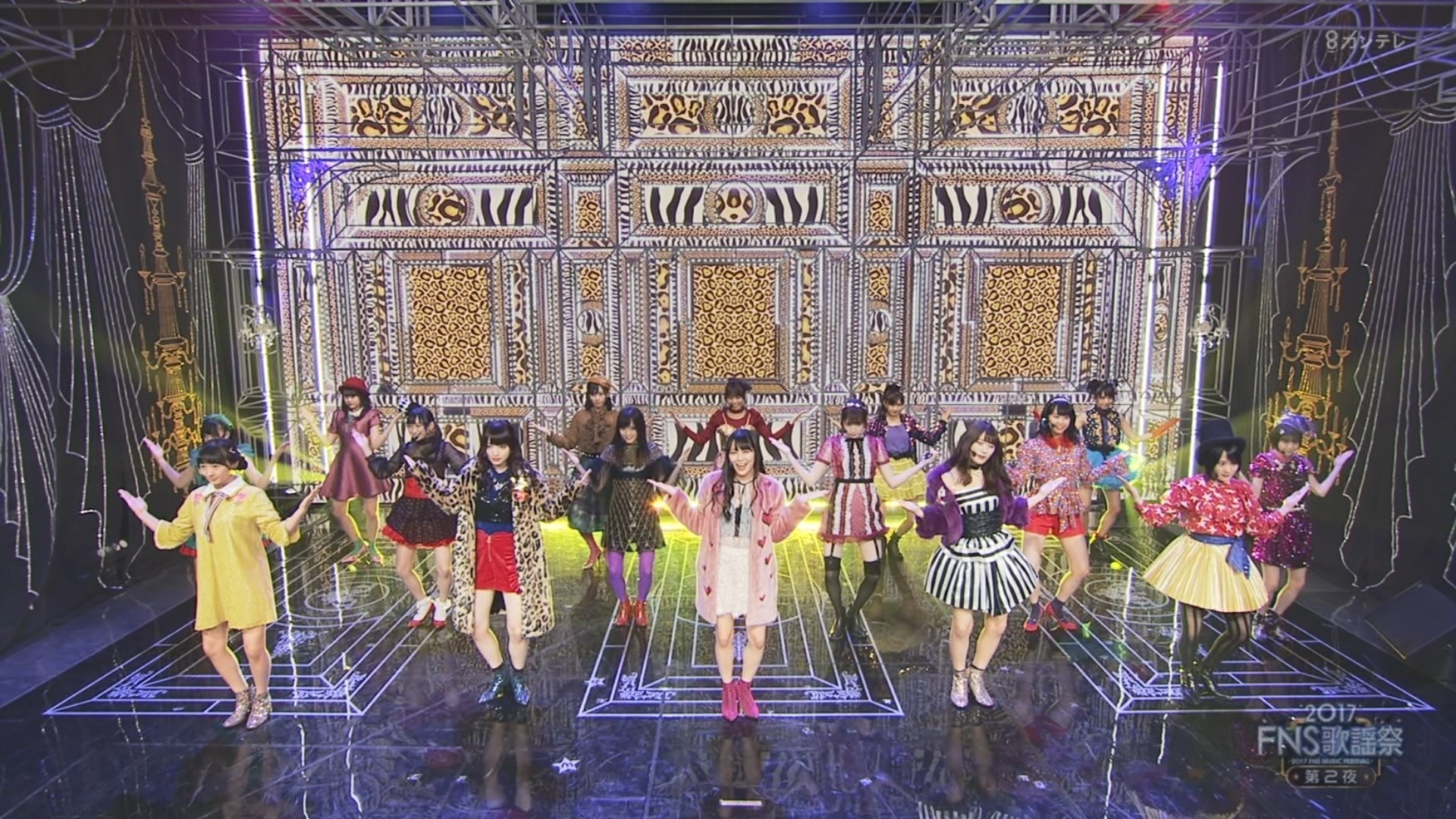2017FNS歌謡祭第2夜・NMB48ワロタピーポーキャプ-103