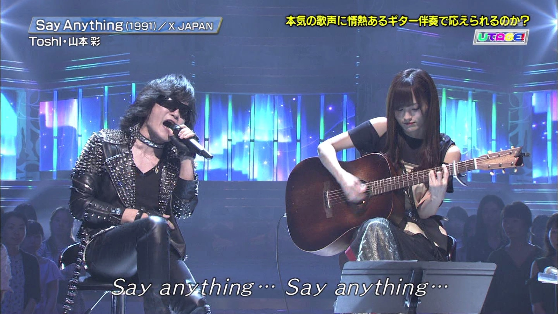 Say Anything・Toshl×山本彩-001
